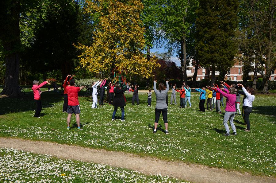 Reprise des cours de qi gong en plein air dès le 6 mai !